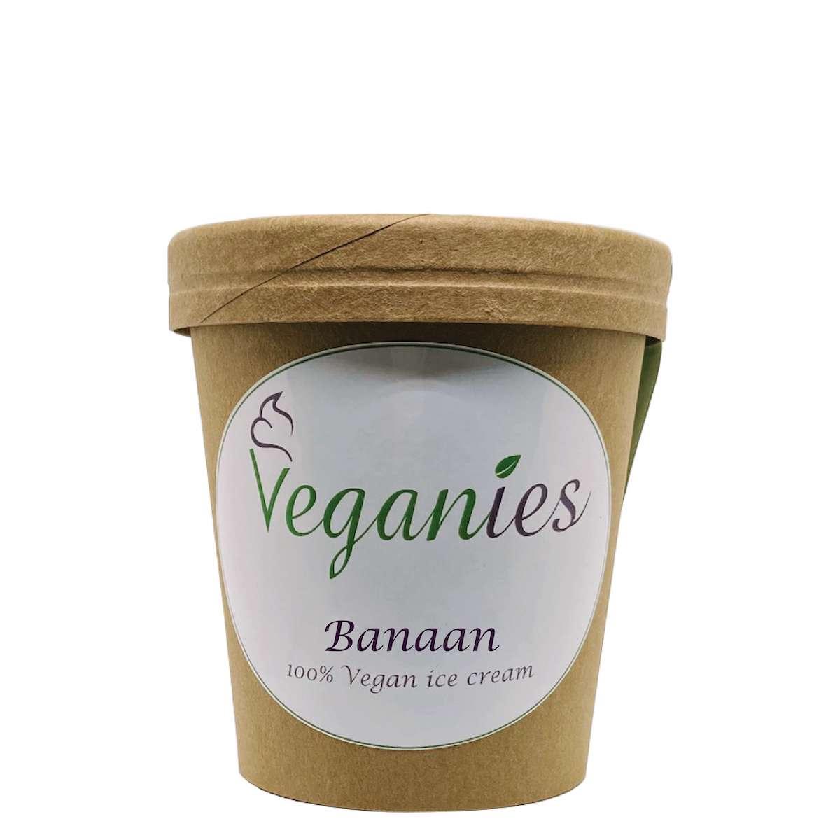 Vegan ijs Banaan