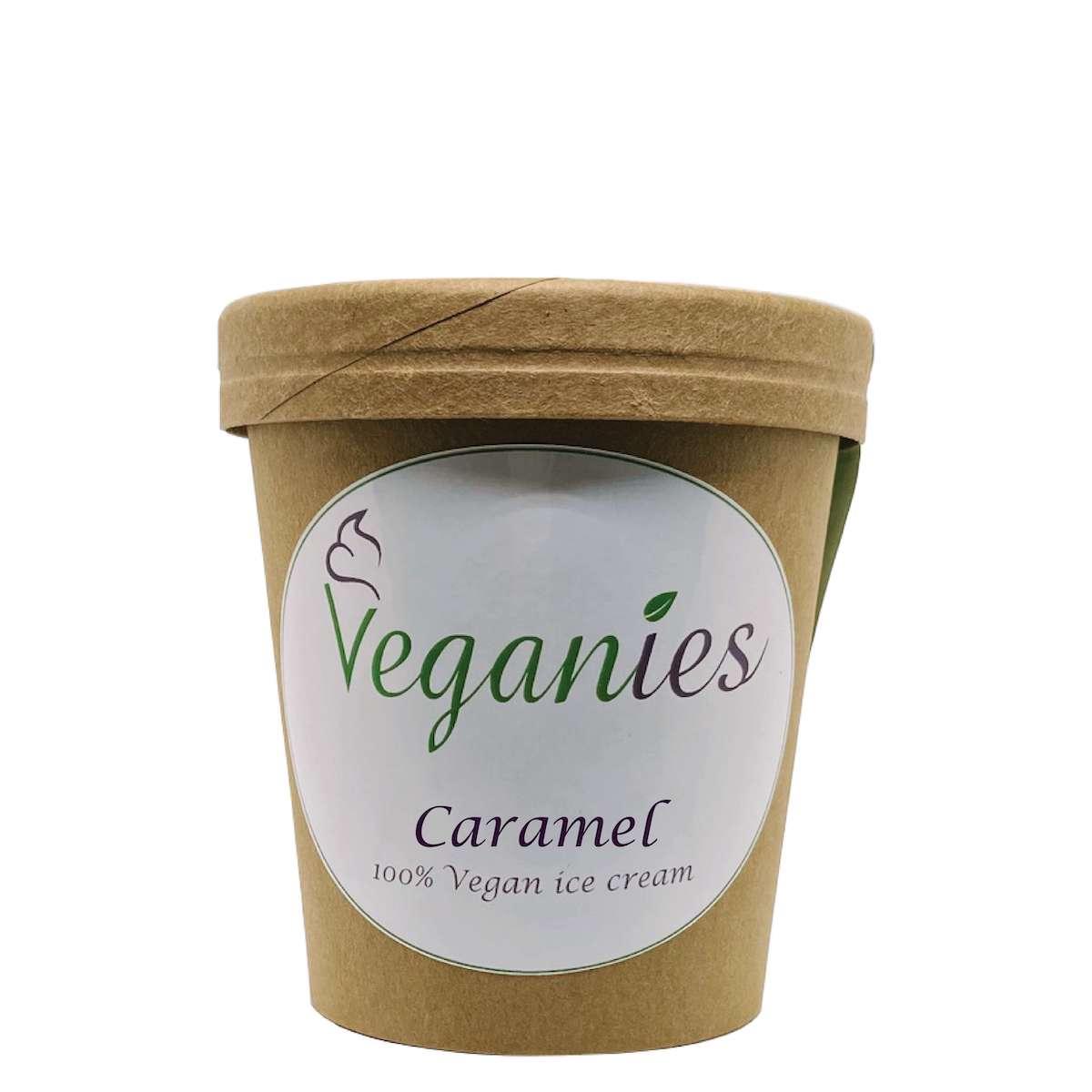 Vegan ijs Caramel