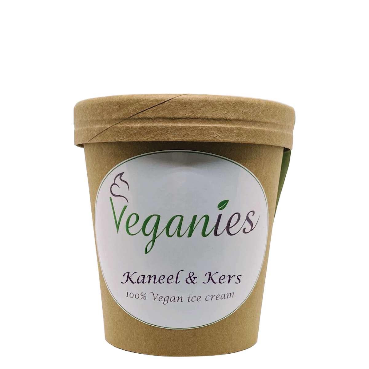 Vegan ijs Kaneel & Kers