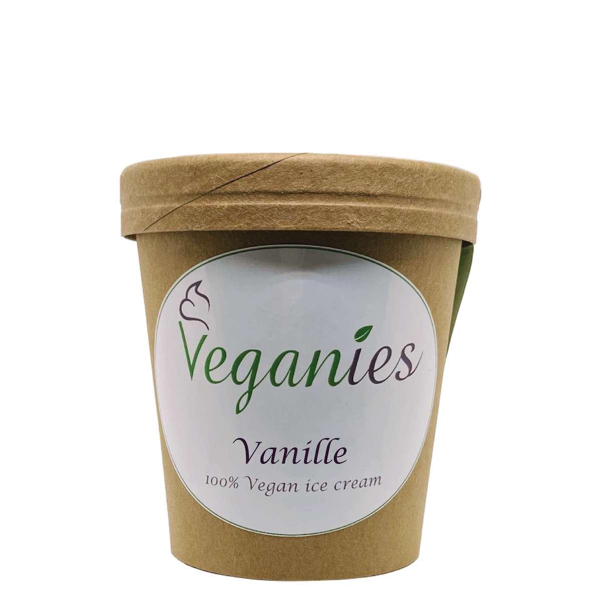 Vegan ijs Vanille